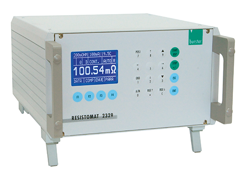resistomat 2329 widerstand messung automation burster 6 kanal messstellenumschalter resistomat for fast resistance measurement in automated processes 2329 6 channel switch system
